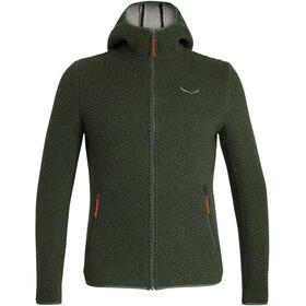 SALEWA Woolen Sweat-shirt à capuche Double épaisseur Homme, kombu green